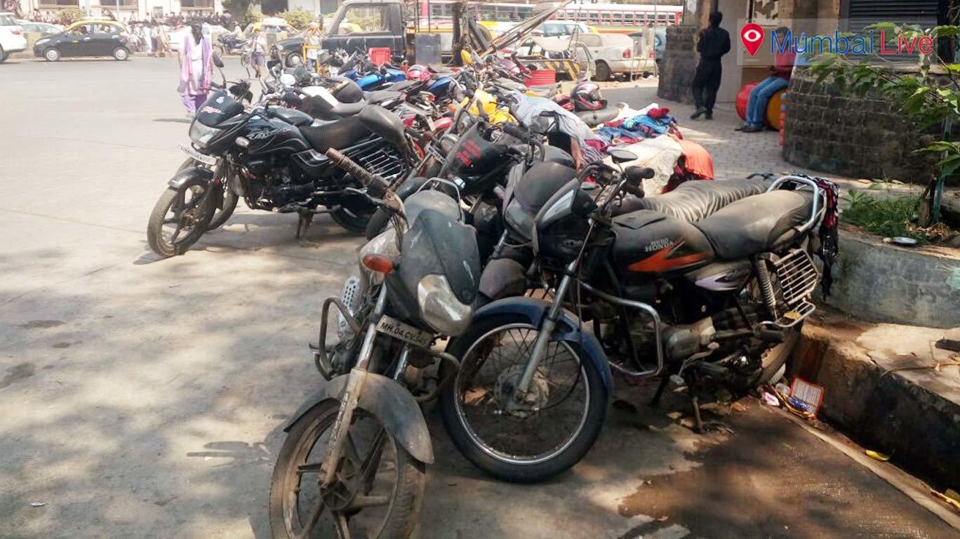 अपराध मामलों के वाहन जनता के लिए मुसीबत
