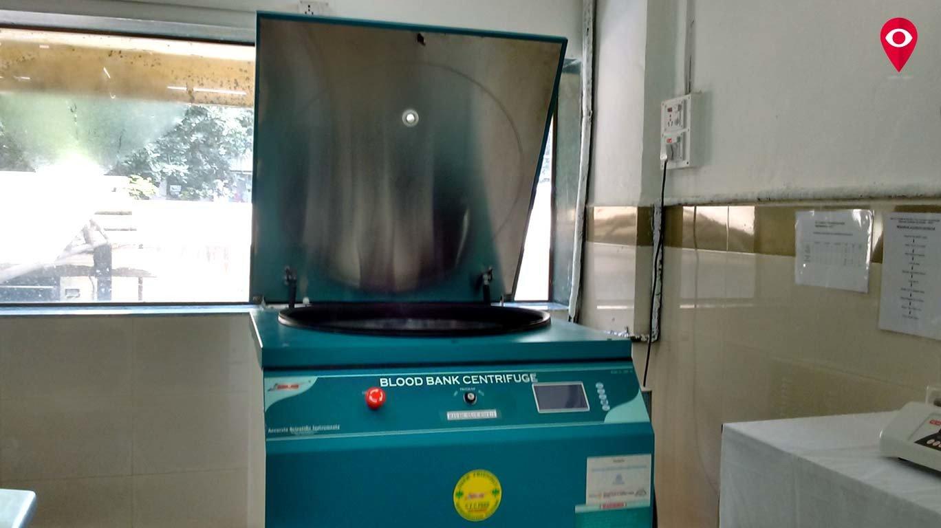 राजावाडी रुग्णालयात रक्त घटक विलगीकरण केंद्र