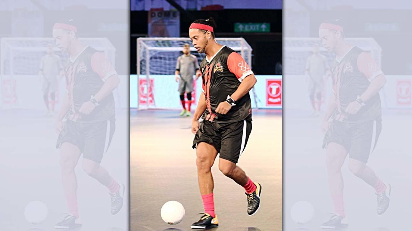 Ronaldinho helps Delhi Dragons win 4-3 against Mumbai Warriors in Premier Futsal opener