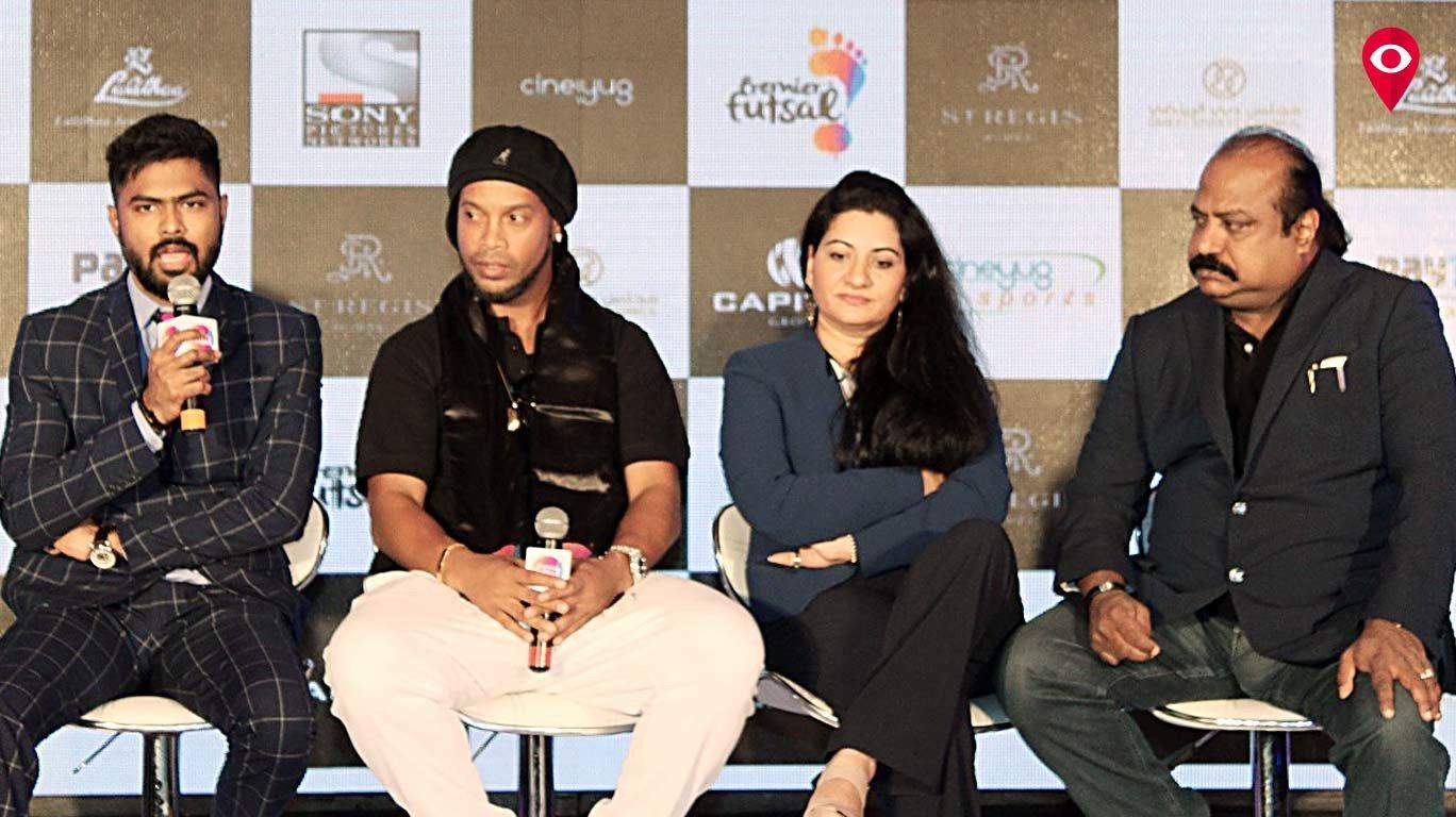 भारतीय फुटबॉल टीम की रैंकिग में और होगा सुधार - रोनाल्डिन्हो