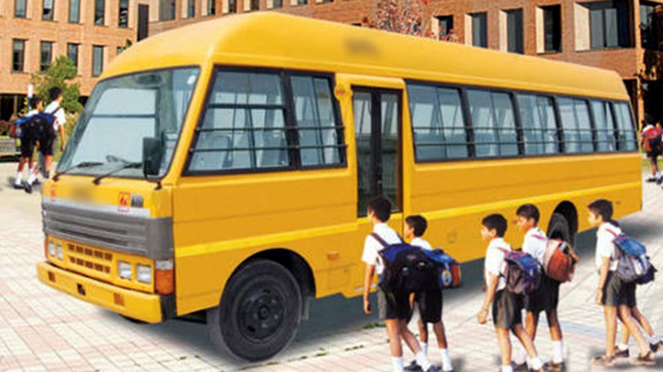स्कूलबस चालकांचा संप मागे