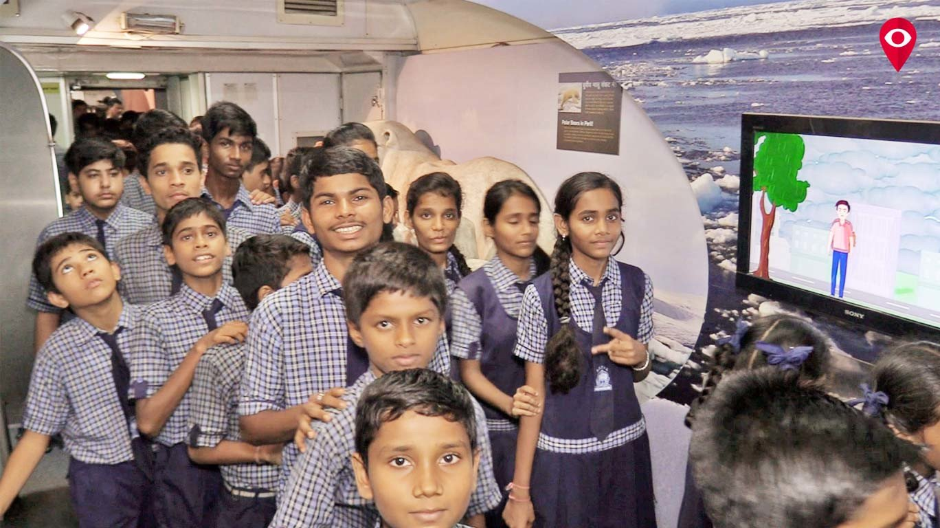 Science Express makes a pit stop in Mumbai