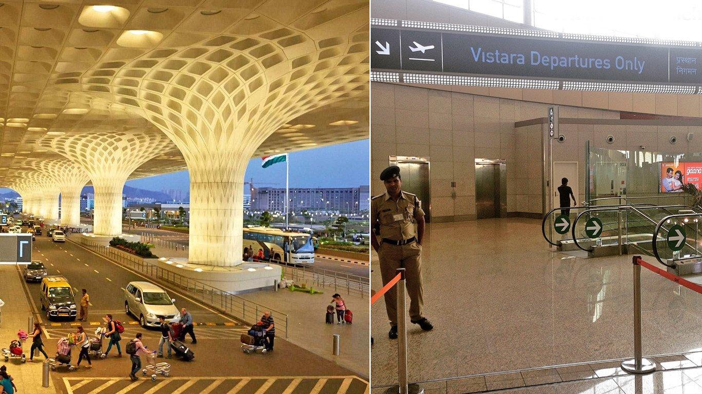 मुंबई विमानतळ धमकीप्रकरणी सुरक्षा सुपरवायजरलाच अटक!