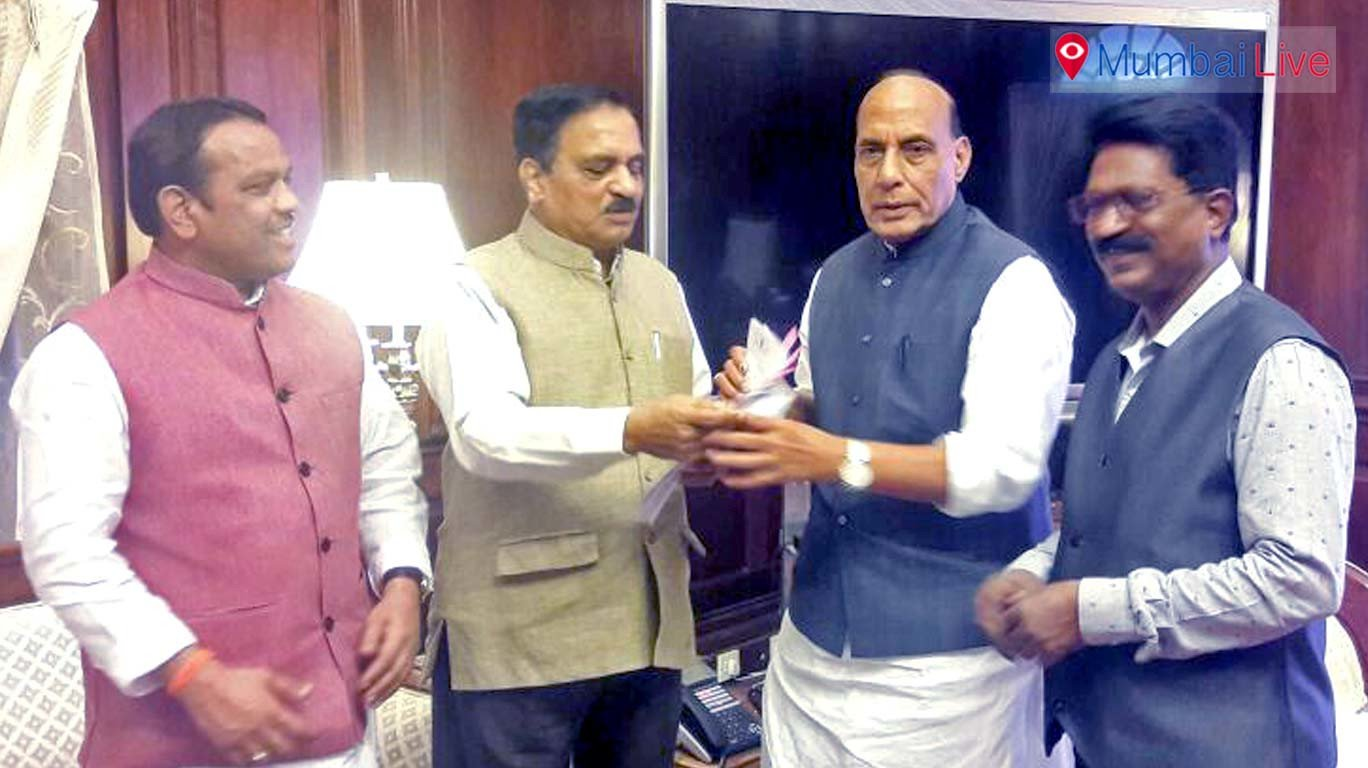 Will Rajnath Singh accept Shiv Sena ministers' demand for new station names?