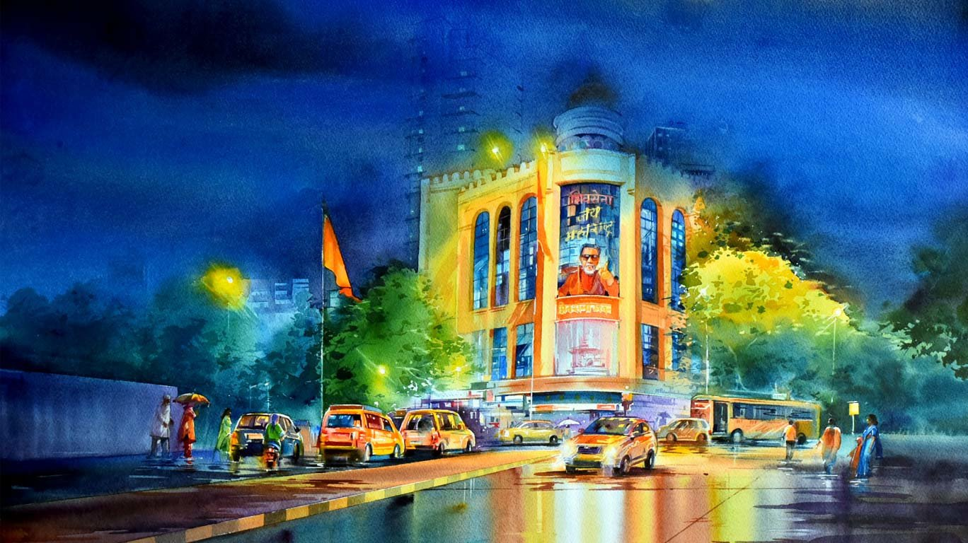 Dark and Lights of Mumbai: An art exhibition which depicts the beauty of our city