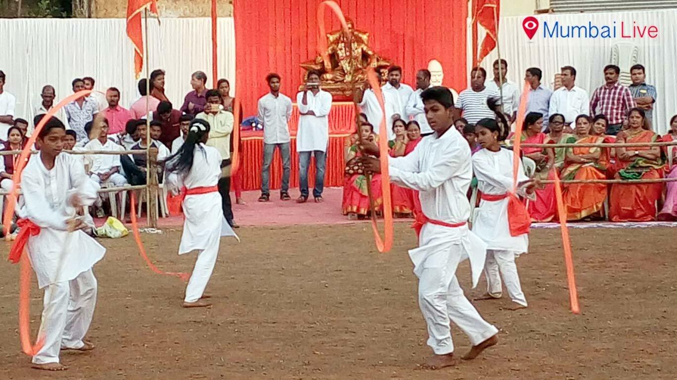 Shiv Jayanti celebrated in Bhoiwada