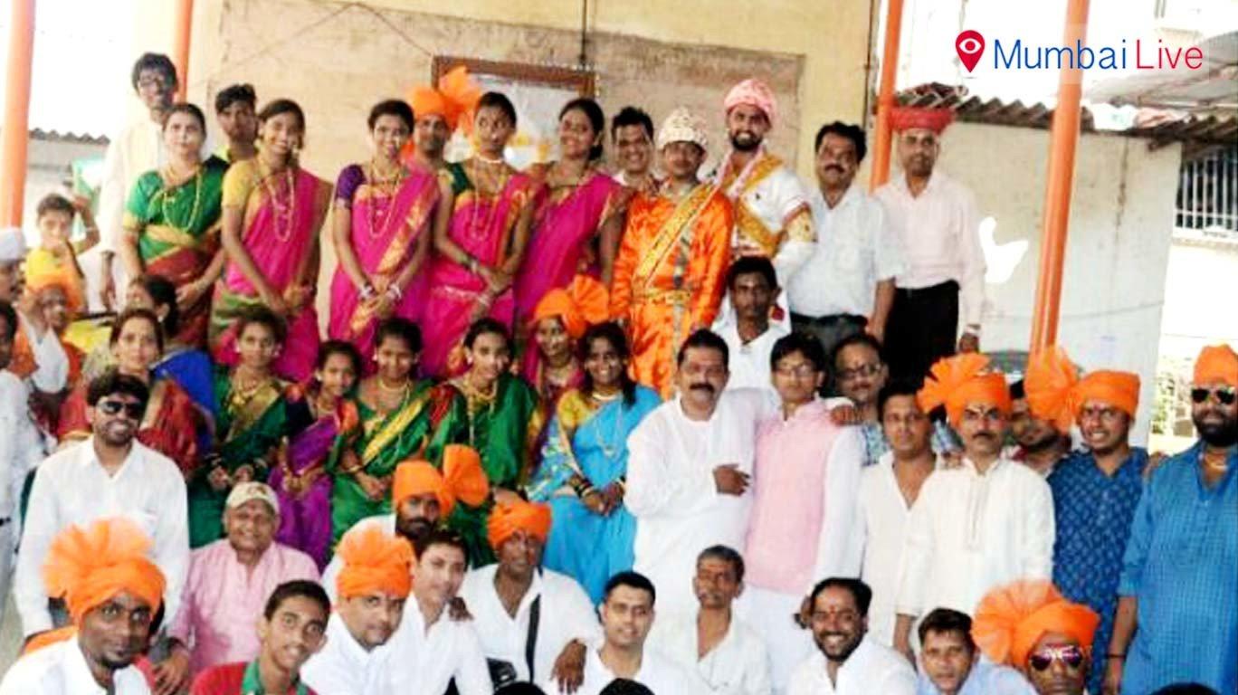 शोभायात्रा में मराठी संस्कृति का दर्शन