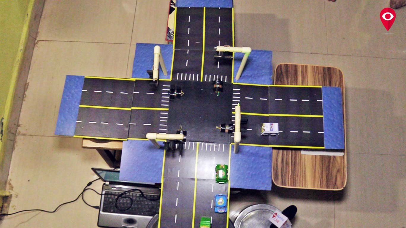 College student proposes an inspiring solution for ambulances stuck in traffic