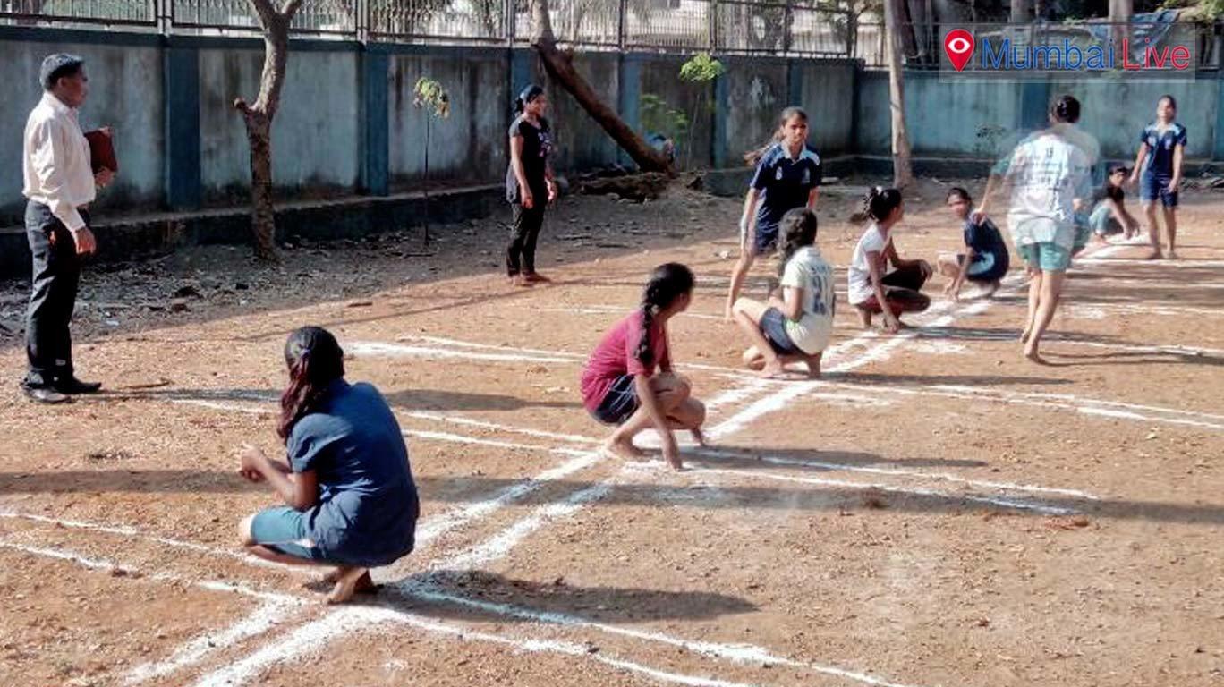 घाटकोपर में स्पोर्ट्स कैम्प का आयोजन