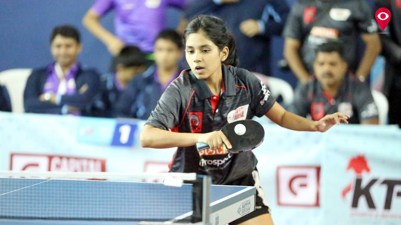 Raegan and Manasi light up Super League Table Tennis