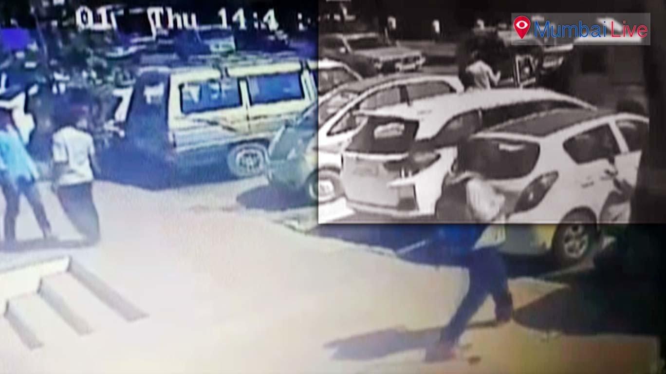 Knock- knock gang flees with ATM cash van