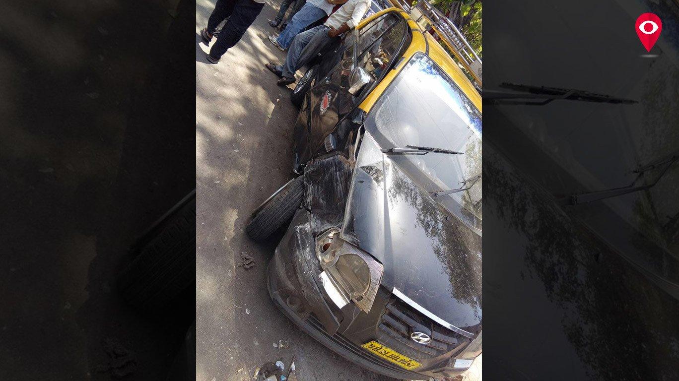 टैक्सी चालक पर जानलेवा हमला