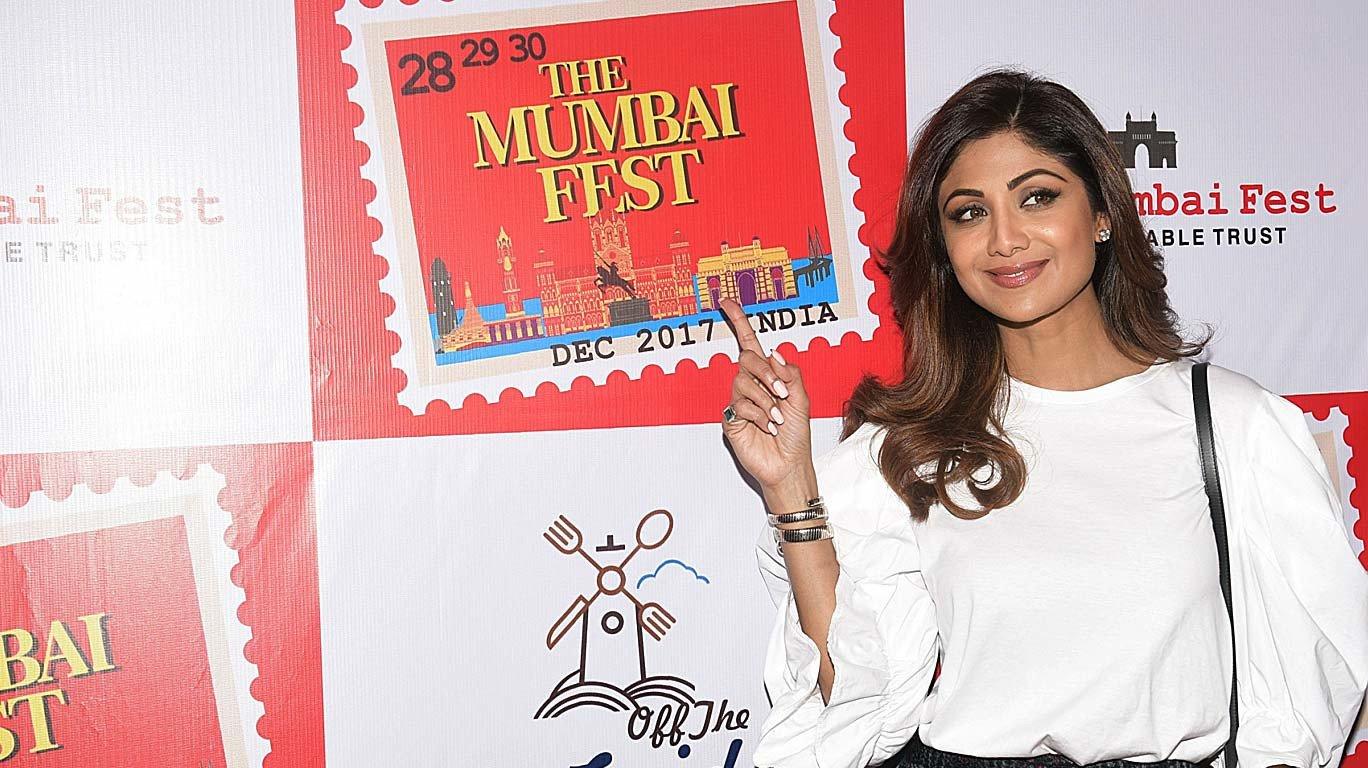 शिल्पा शेट्टी के हाथों 'द मुंबई फेस्ट' का आगाज!