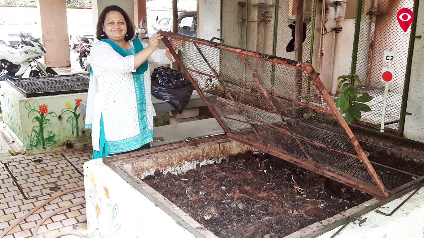 Vijay Nagar society shines as zero-waste society