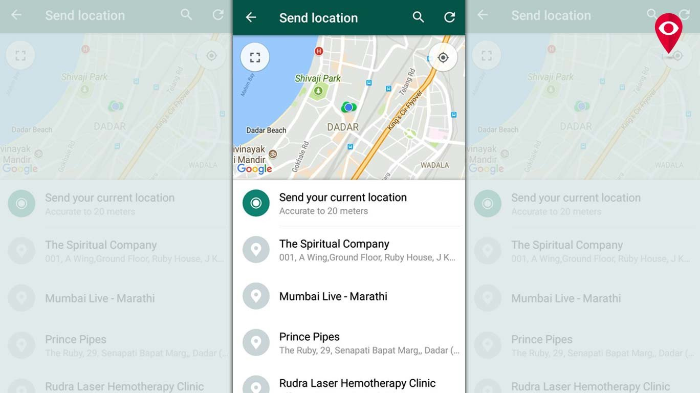 Now, share your live location on WhatsApp | Mumbai Live