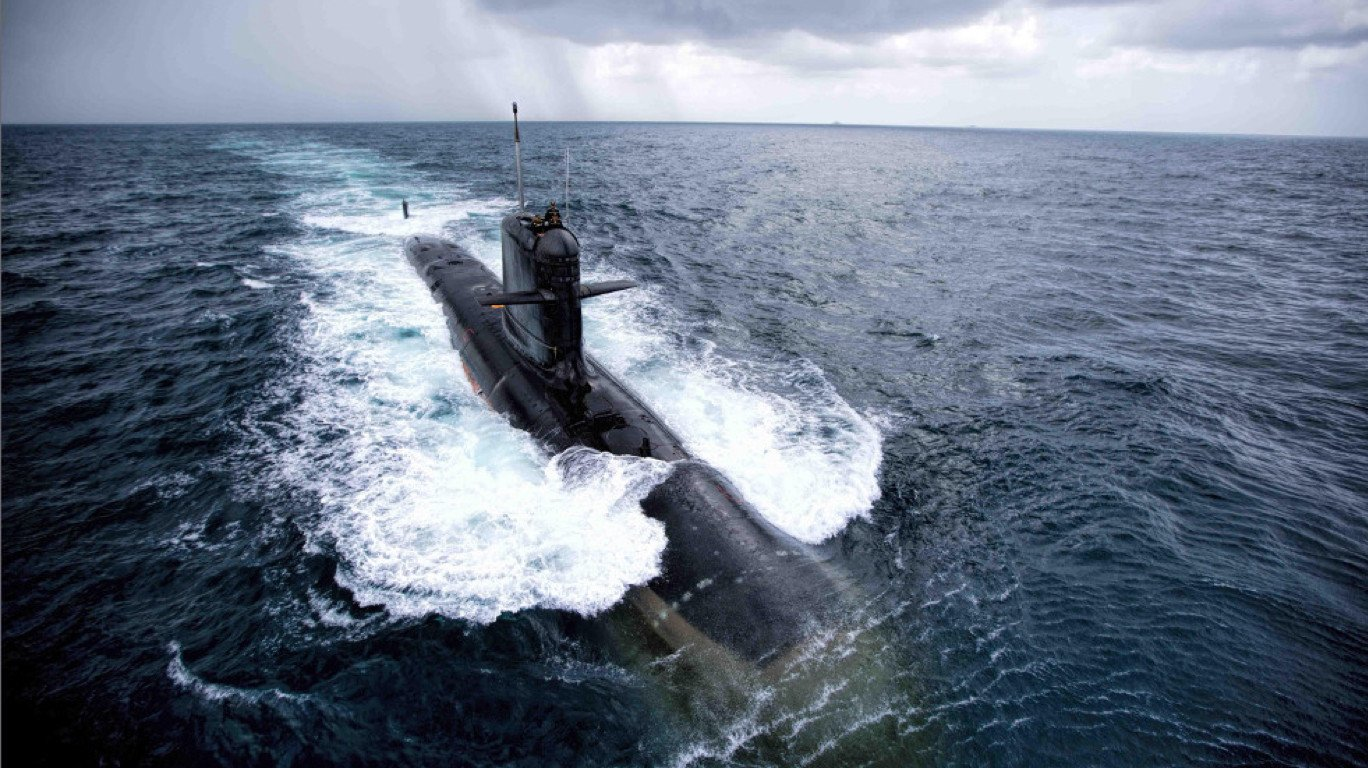 Make in India stealth submarine handed over