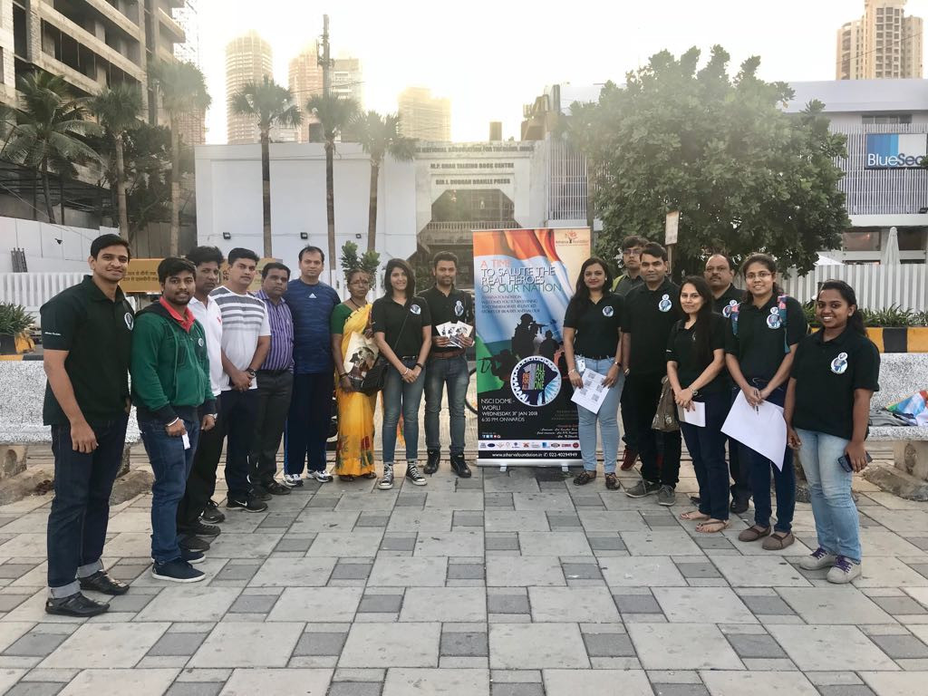 Atharva Foundation organises an awareness campaign across the city