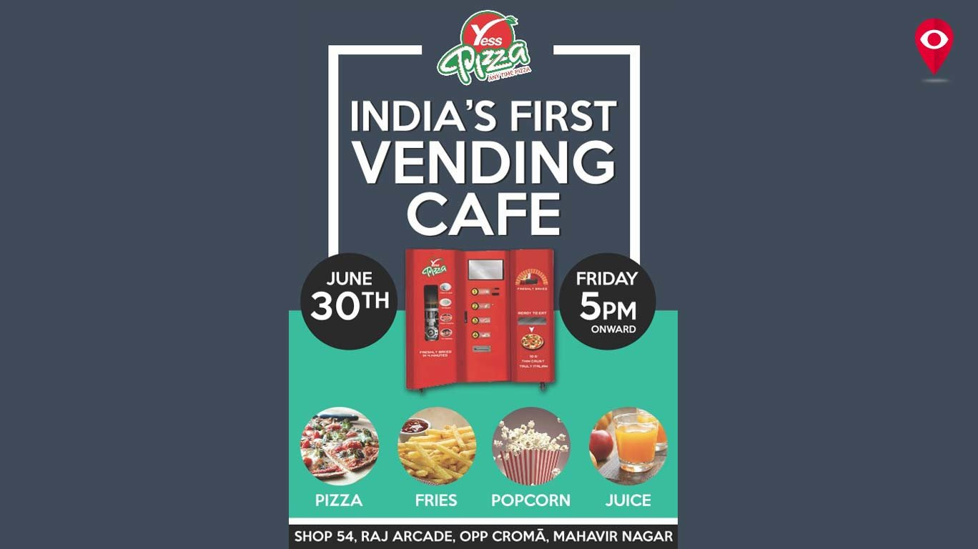 Mumbaikars get India's first Pizza vending machine as a monsoon gift