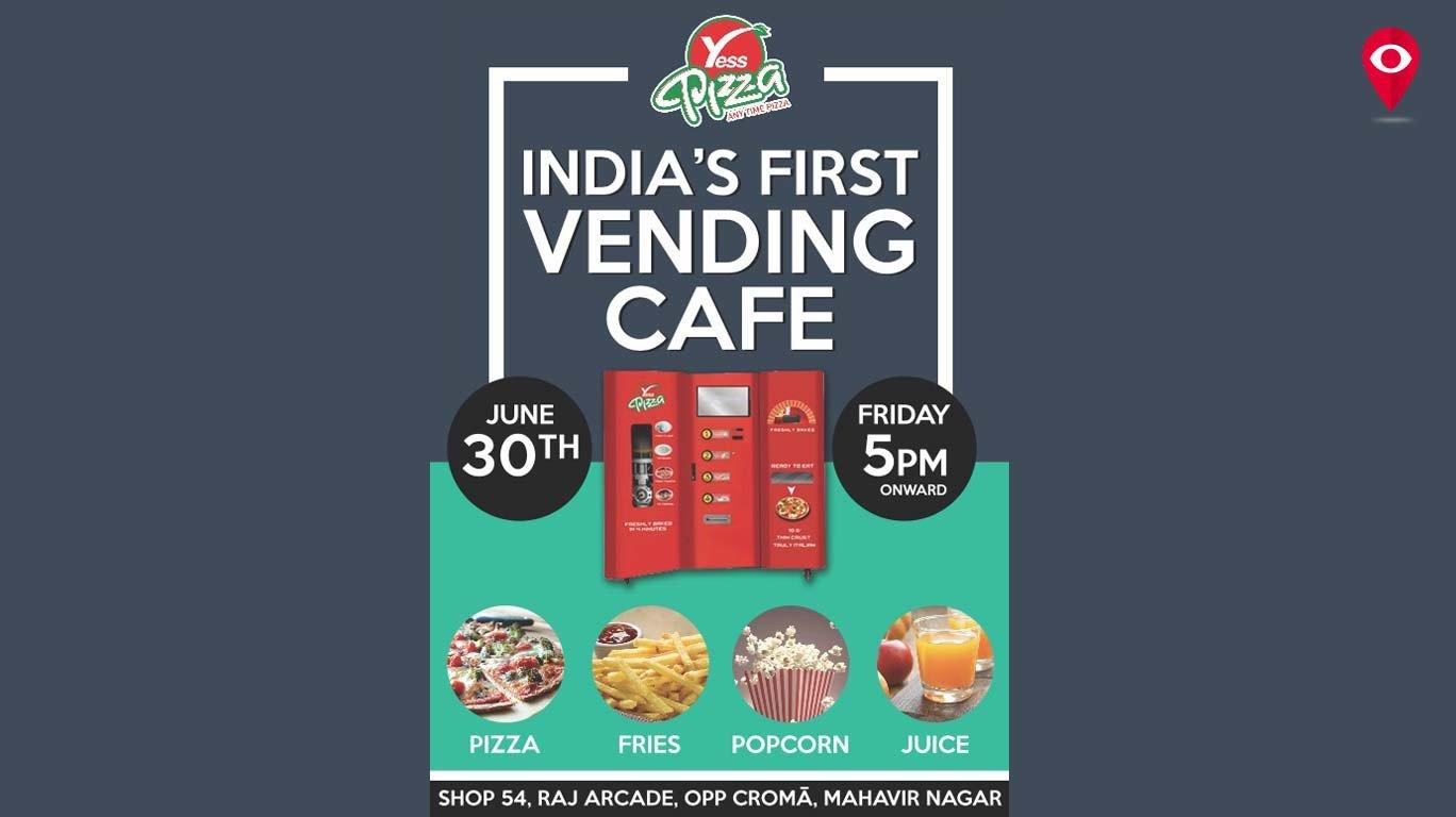 भारत की पहली पिज़्ज़ा मशीन, कांदिवली में...