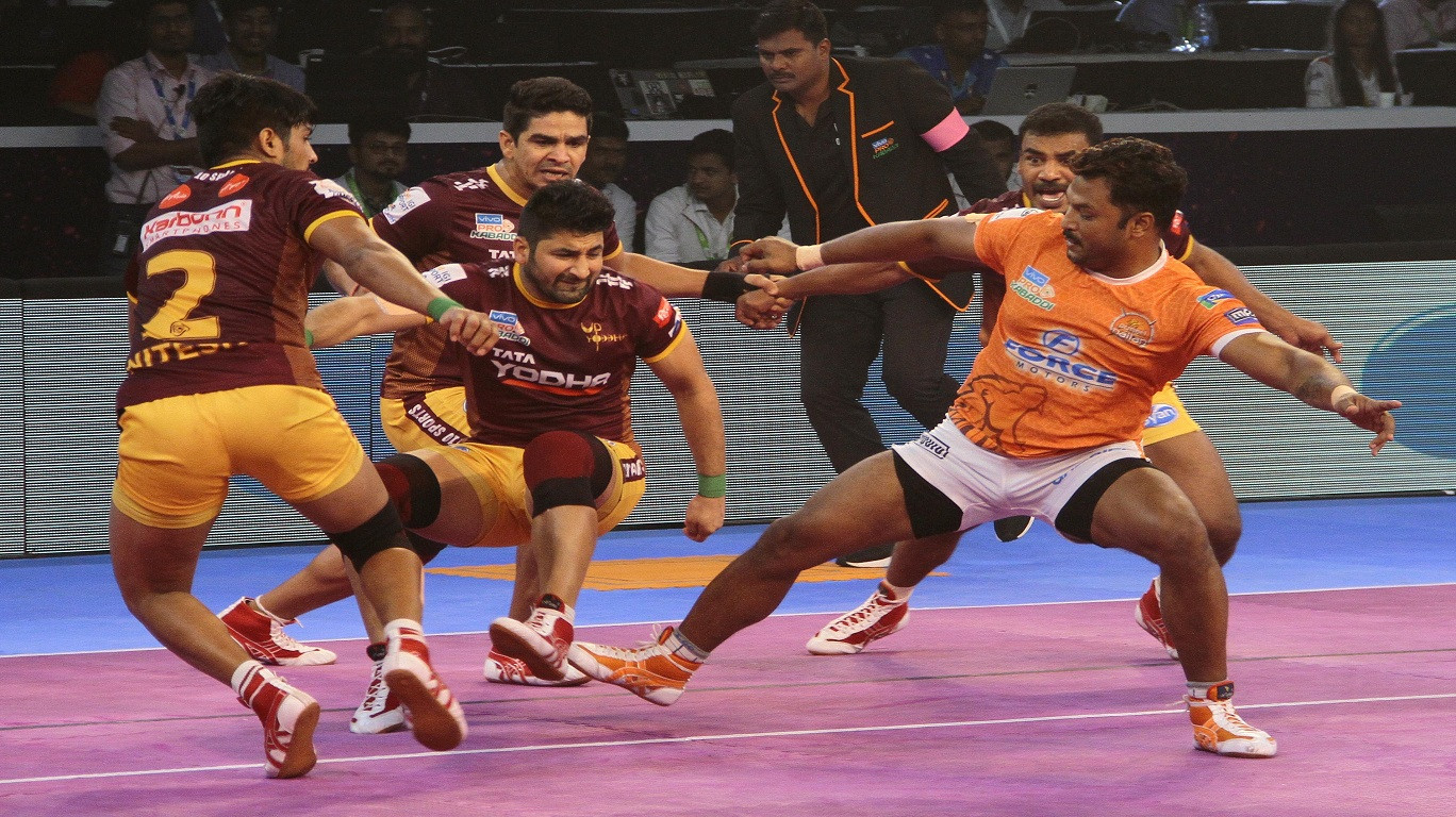 PKL Playoffs: Puneri Paltan beat UP Yoddha 40-38 in Eliminator Match No.1