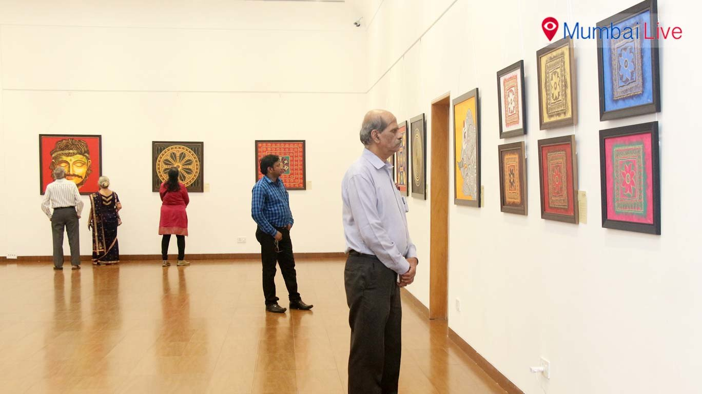 Gautam Buddha's philosophy through paintings