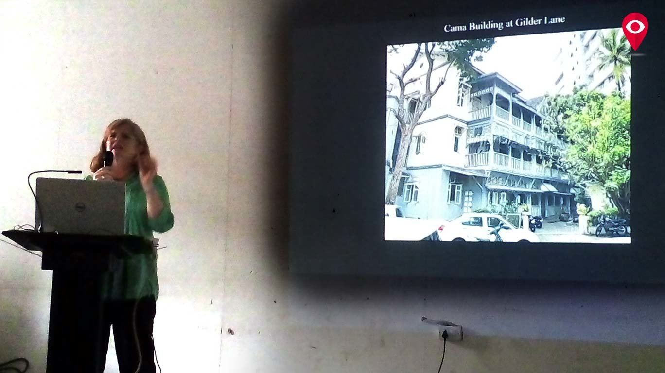 """""""The younger generation in Mumbai no longer believes in community housing""""-Abigail McGowan"""
