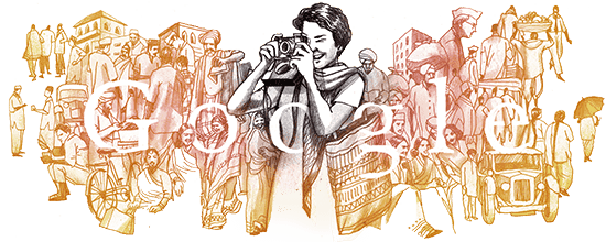 Google pays tribute to India's first woman photojournalist Homai Vyarawalla with a doodle