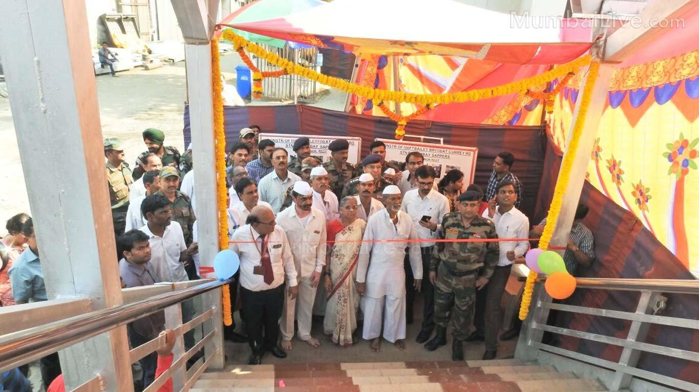 गुड न्यूज... मुंबईकरांसाठी नवे ५६ पादचारी पूल