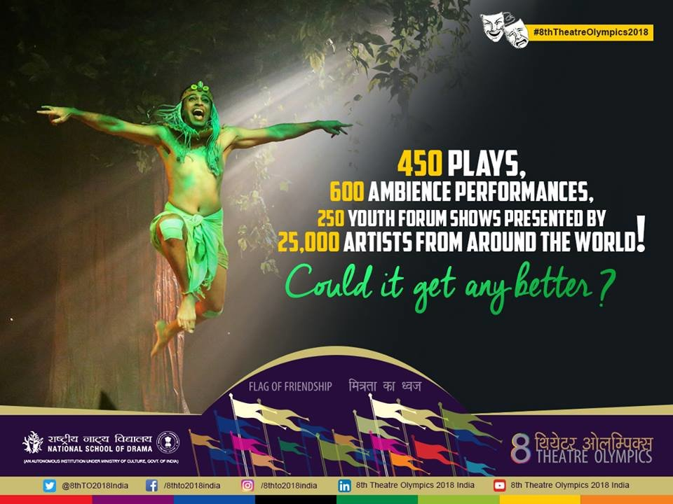 Mumbai to host 8th Theatre Olympics between March 24 and April 8