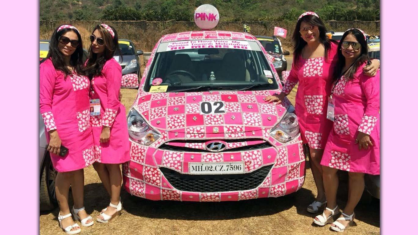 डब्ल्यूअायएए महिला रॅलीत १७४ कारचा समावेश