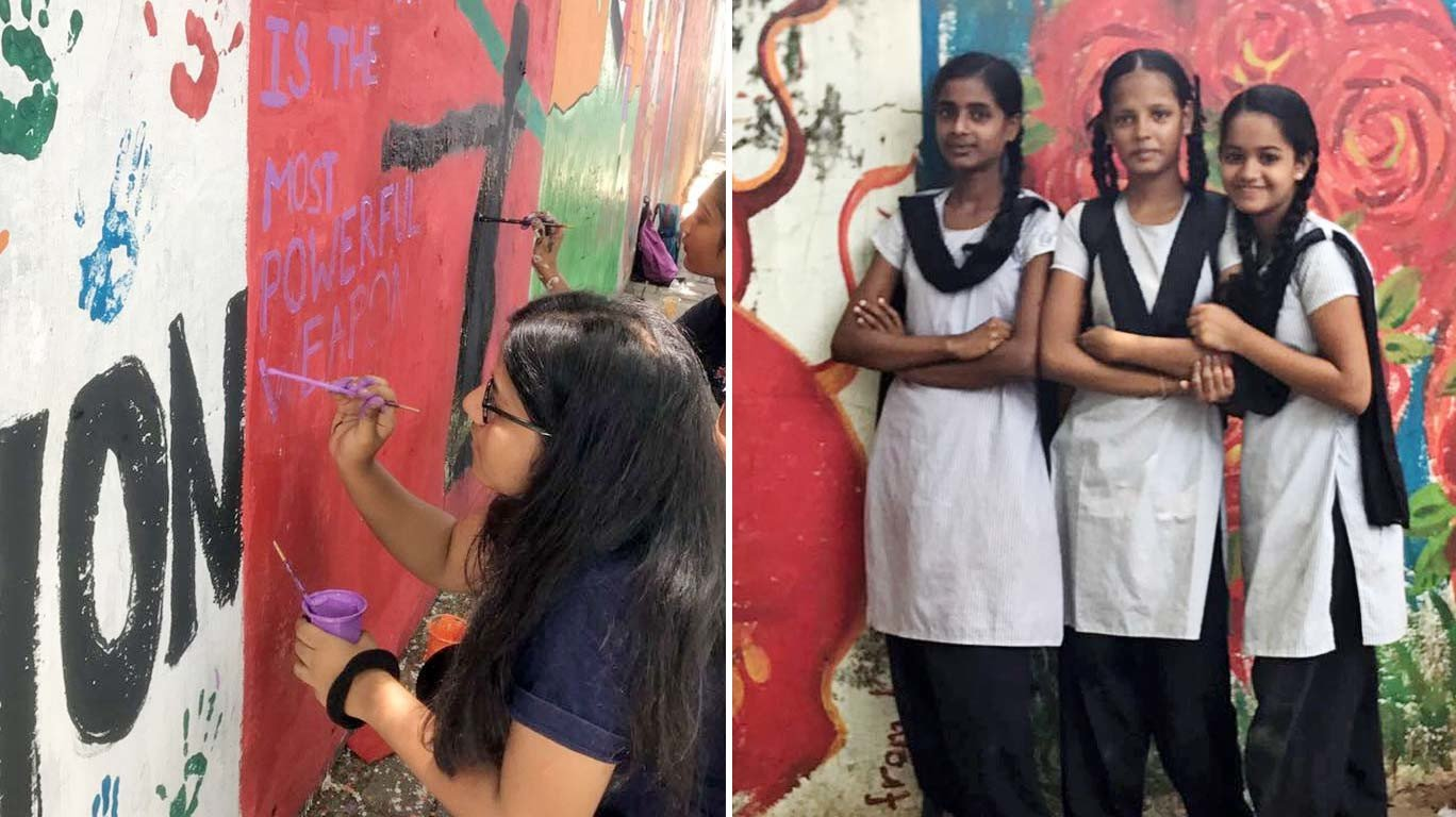 'Paint It' by Rotaract Club Of HR College helps kids bring out their creativity