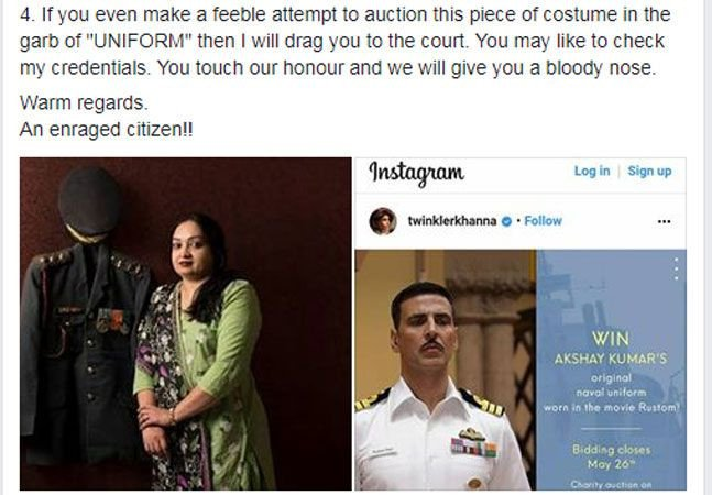 Rustom costume controversy: My wife and I are doing some work with good intention for a good cause - Akshay Kumar