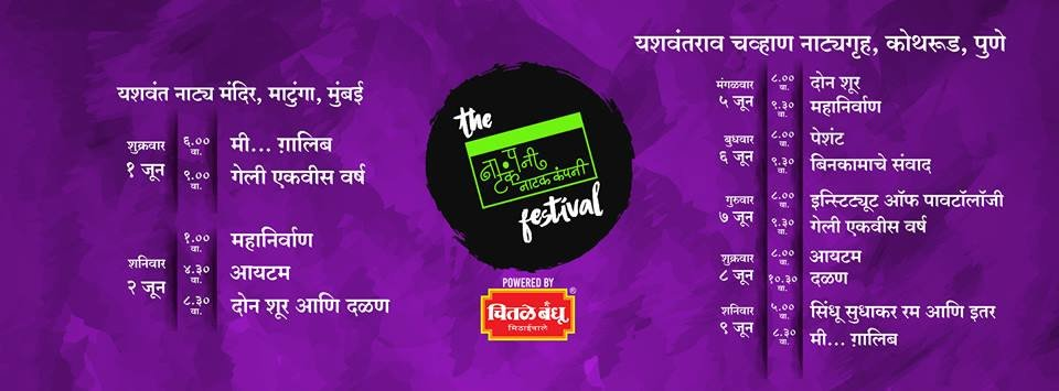 Natak Company to celebrate 10 successful years with a theatre fest in Mumbai and Pune