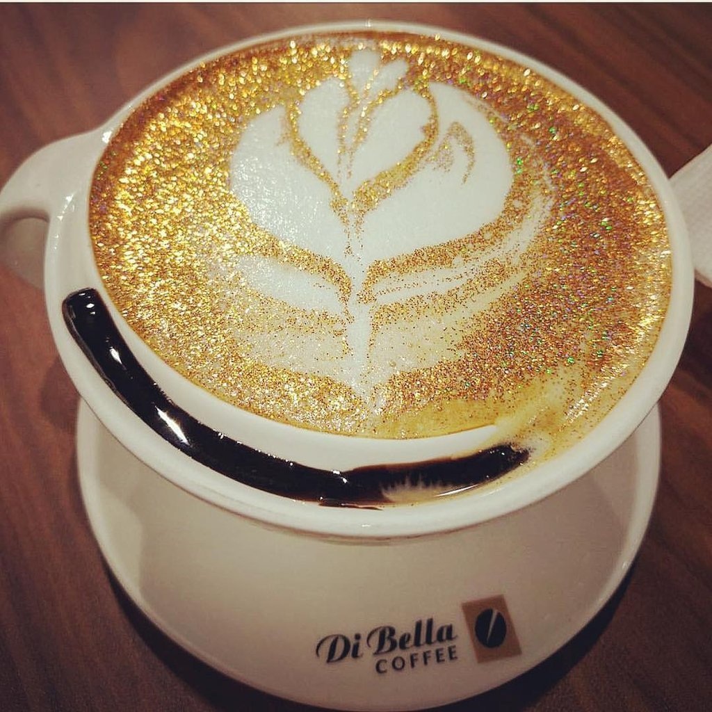 Try out some blingy diamond coffee at this café in Mumbai