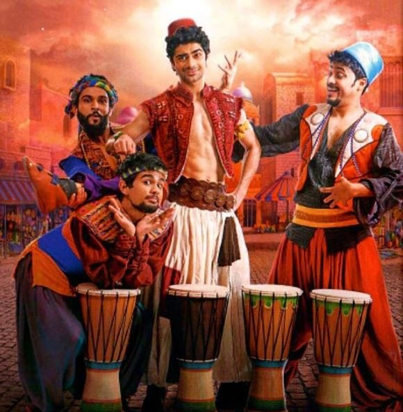 My experience of working with Yash Raj Films helped me a lot in Aladdin: Taaruk Raina