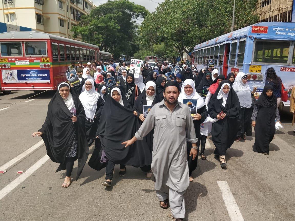 कुड्स दिवस के मौके पर अंधेरी में रैली का आयोजन।