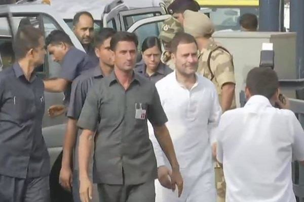 Live Updates: Congress president Rahul Gandhi visits Mumbai; will address party workers