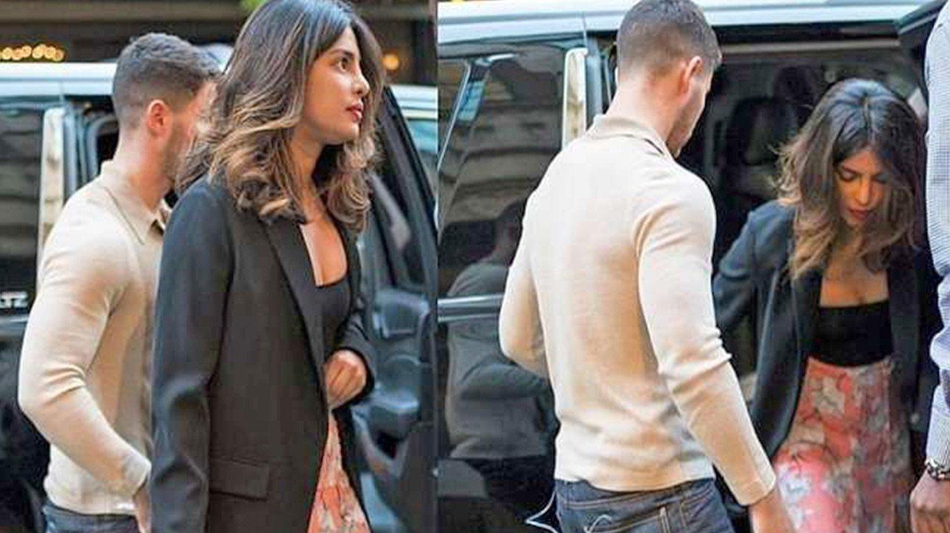Priyanka Chopra and her rumoured beau Nick Jonas have arrived in Mumbai