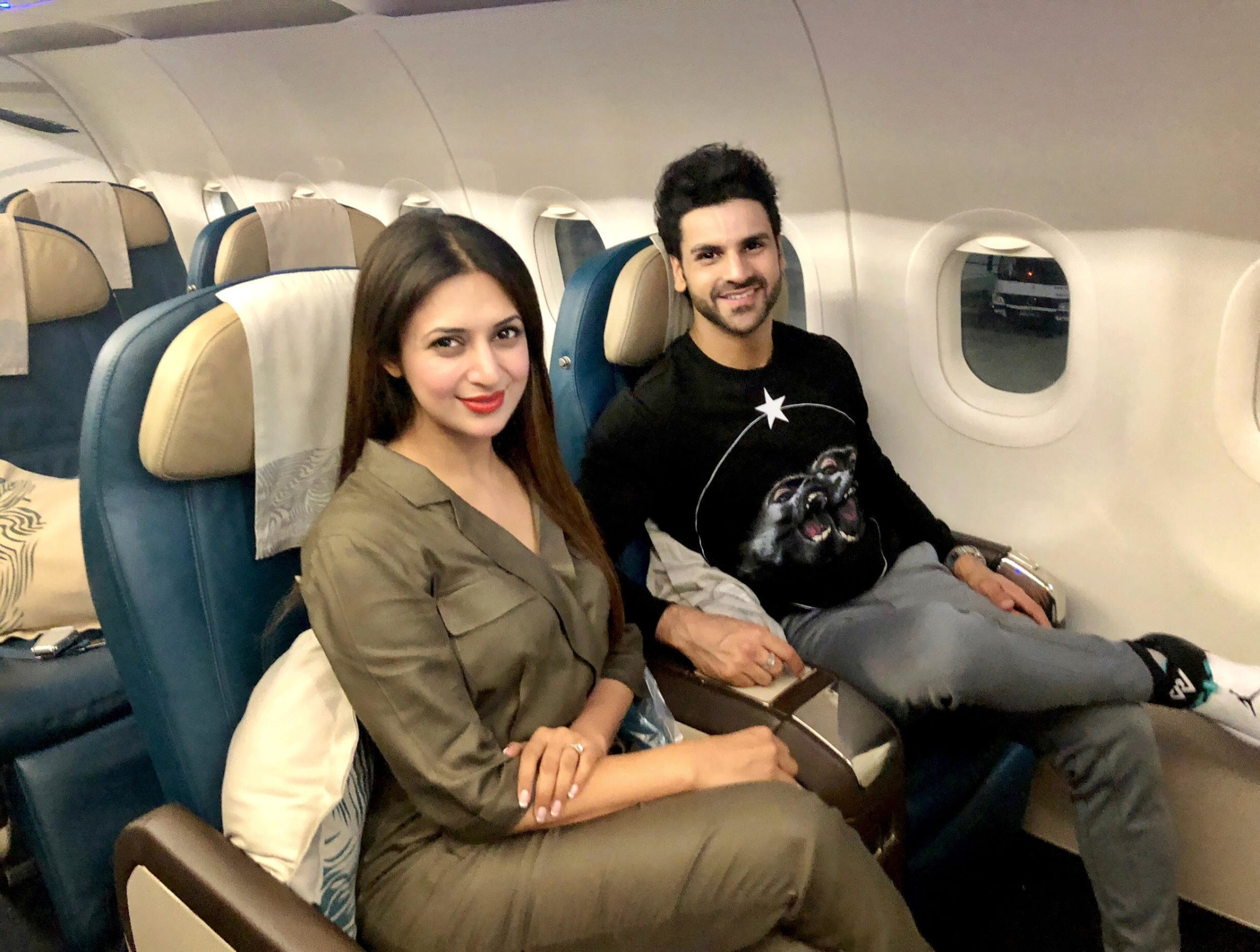 Divyanka Tripathi and Vivek Dahiya on a romantic getaway to celebrate their 2nd marriage anniversary