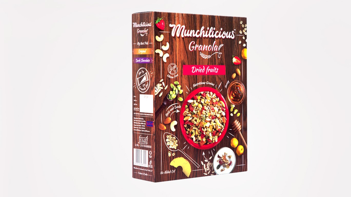 Soch Foods launches granola brand 'Munchilicious'