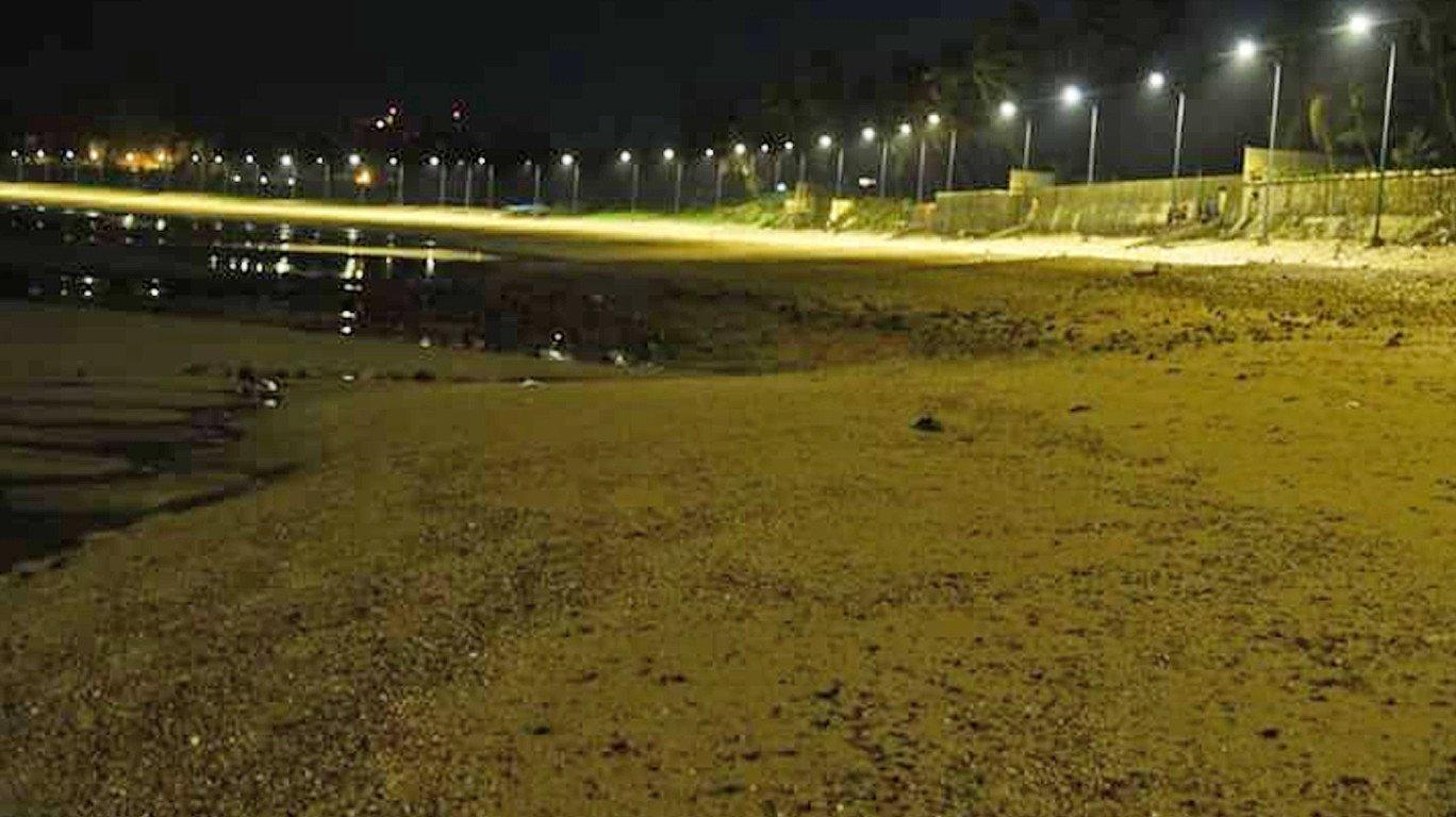 Shining seashores: Six Malad beaches get lit up by LED lights