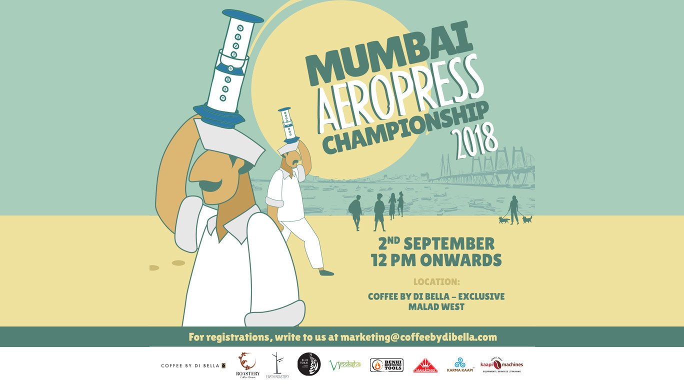 Let the Coffee Games Begin: Coffee by Di Bella is hosting the 'World AeroPress Championship' in Mumbai!