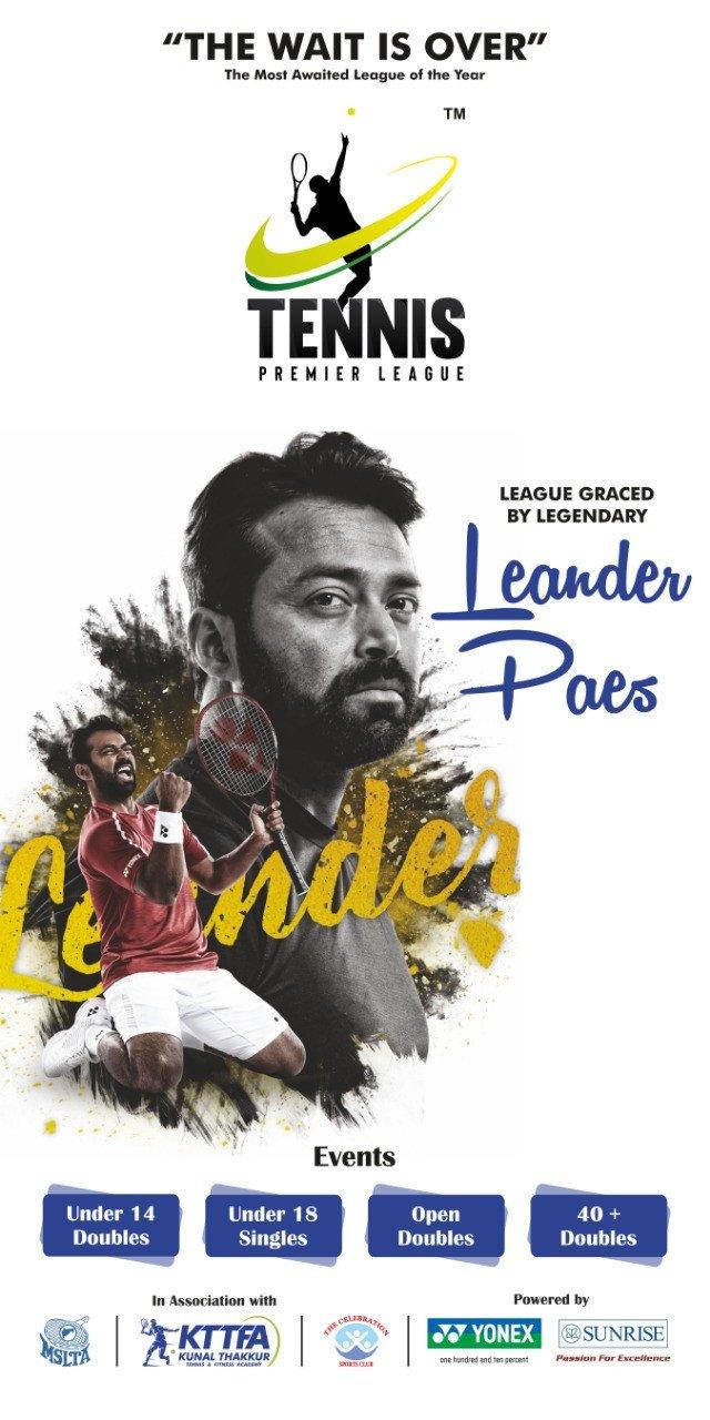Leander Paes to grace Tennis Premier League