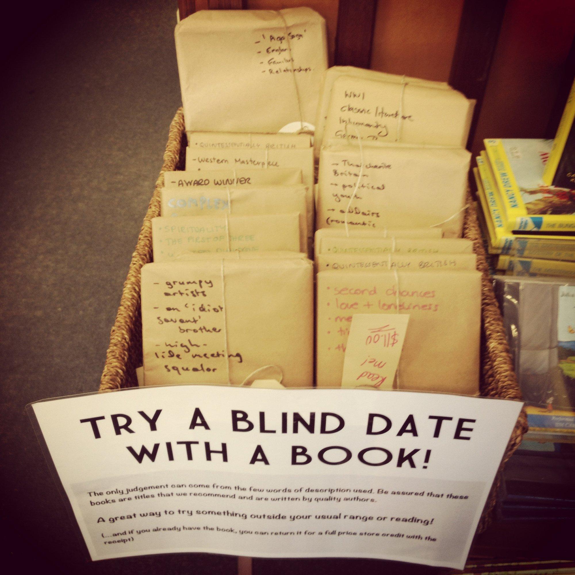 तुम्ही 'ब्लाईंड बुक डेट'वर कधी गेलात का?