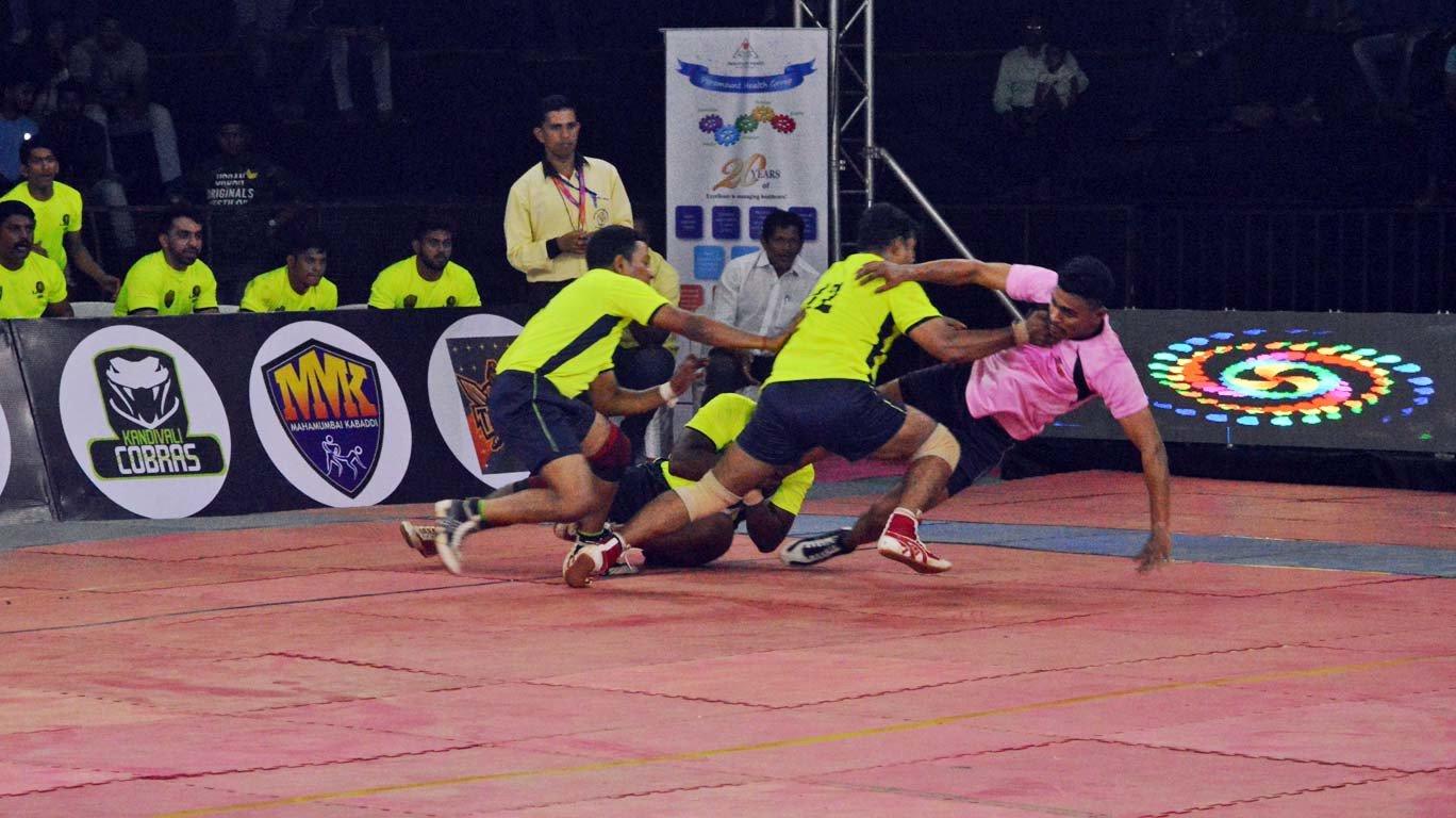 महामुंबई कबड्डी लीगमध्ये डी अँड डी टायटन्सचा थरारक विजय
