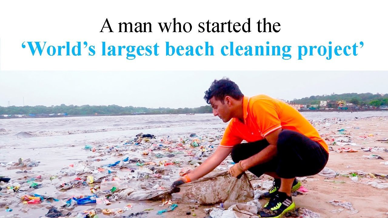 Versova beach shines after an 85 week clean up drive