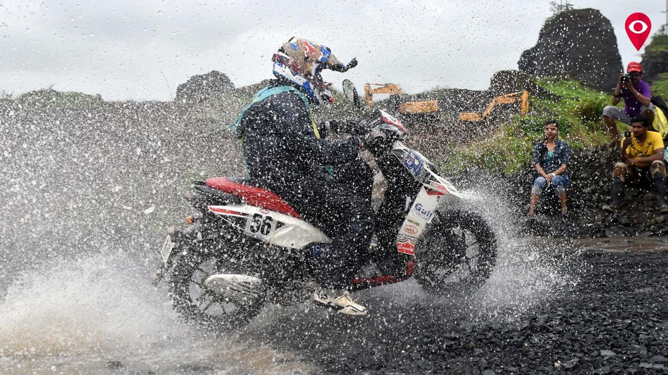 Mumbaikar wins 28th edition of Gulf Monsoon Scooter Rally