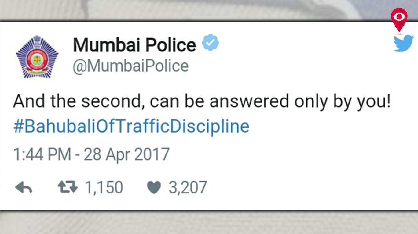 कट्टप्पा, बाहुबली आणि वाहतूक पोलीस