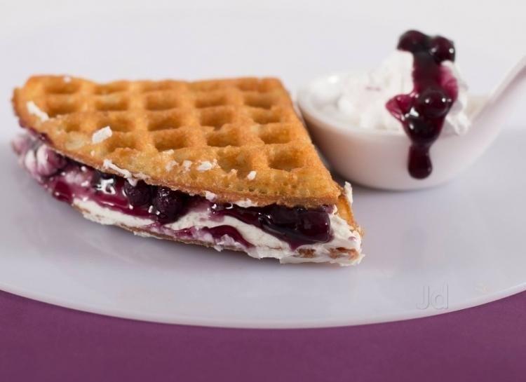 Would you like a three-course waffle meal?