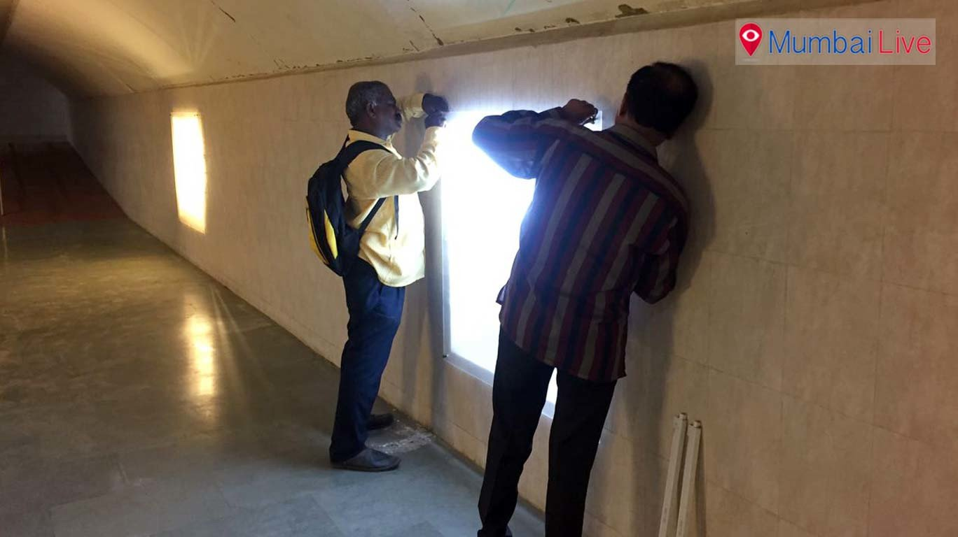 Mahim subway sees light after 12 years
